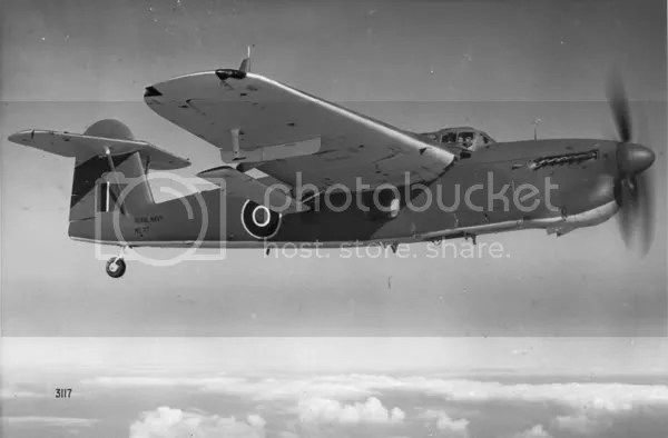 Fairey Barracuda in flight