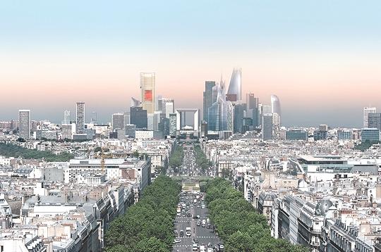 Paris Gt Urbanisme Gt 12 Nouvelles Tours Pour La Dfense