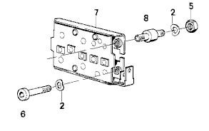 [R100 Tout modèles] Silents blocs de la plaque de diode
