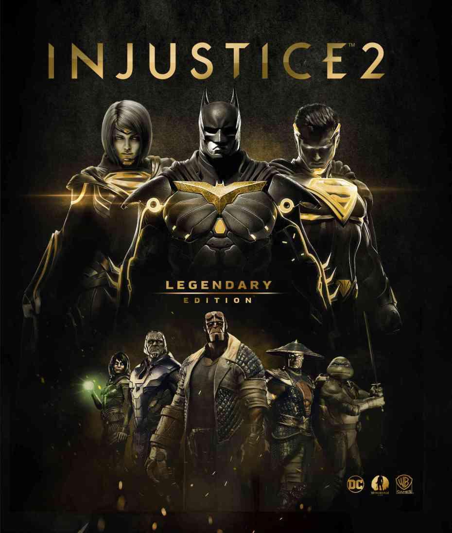 injustice 2, Injustice 2: Warner Bros annuncia la Legendary Edition