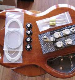 50 s vs modern wiring for my gibson sg my les paul forum sg guitar wiring  diagram sg modern wiring