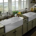 Pics of apron farmhouse sinks mounted above counter