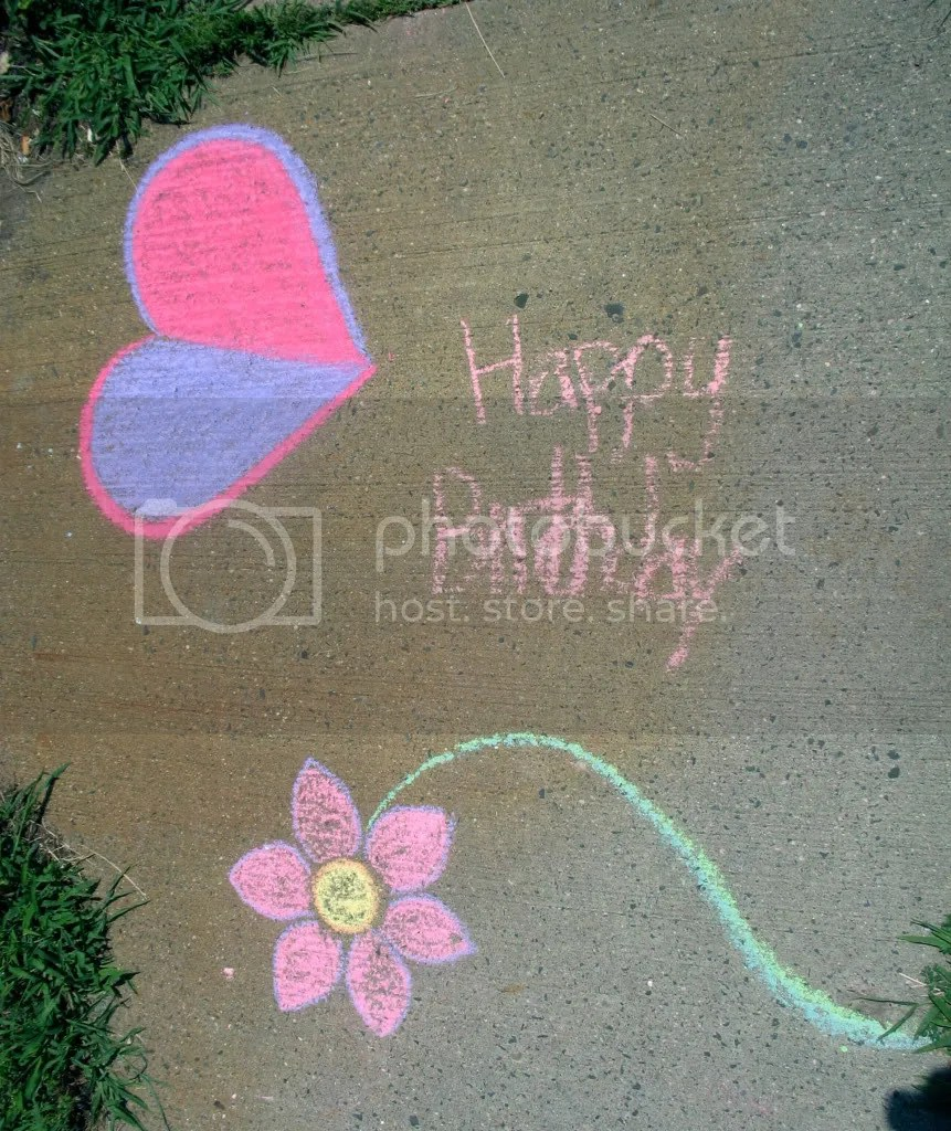 sidewalk drawing by Joey and StephG