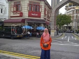 Depan Komplek Masjid Sultan