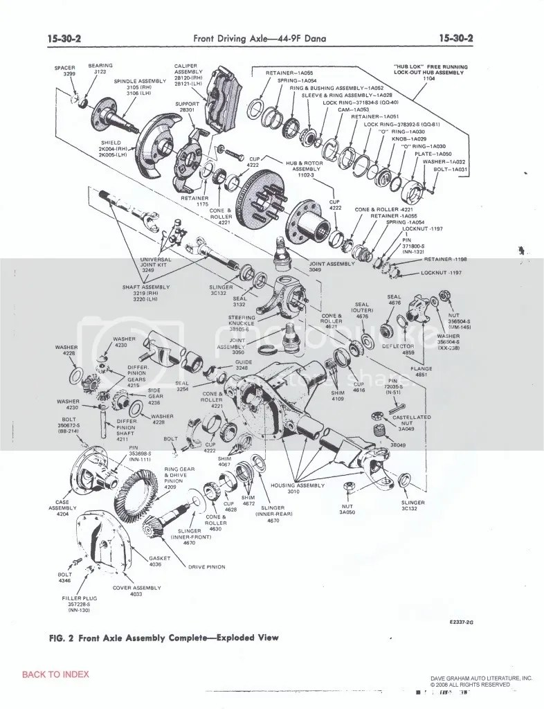 hight resolution of ford truck enthusiasts forums 1979 f150 front axle diagram