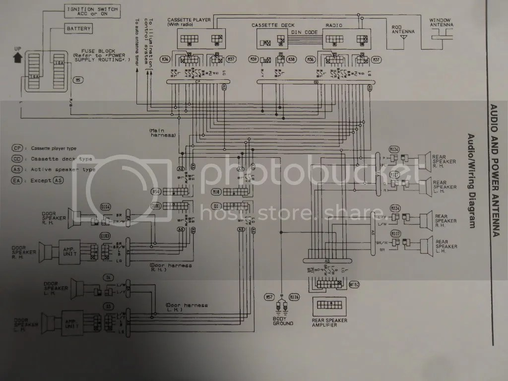 Radio Wiring Harness Diagram On 91 240sx Wiring Harness Diagram