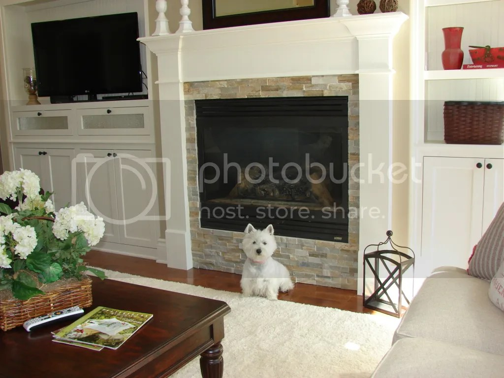 DIY ideas for fireplace surround?
