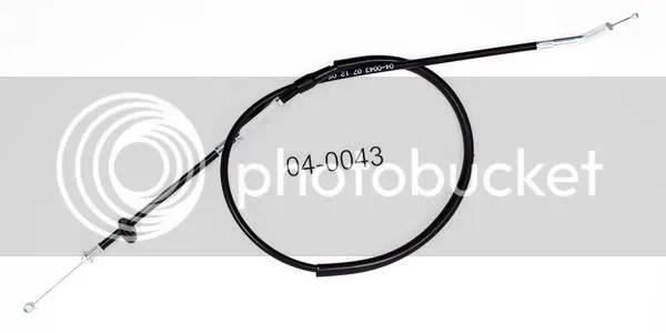 Motion Pro Throttle Cable Suzuki LT125 LT185 Quadrunner