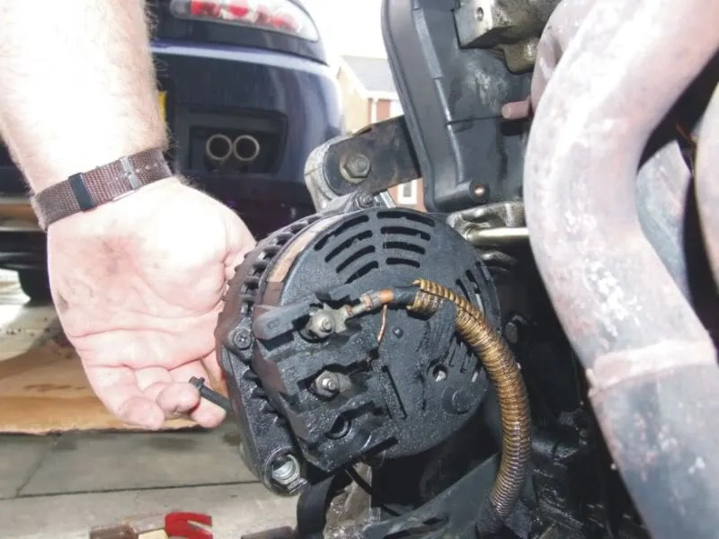 mg tf wiring diagram hyundai sonata 2 4 engine mgf & owners forum - alternator. how to change