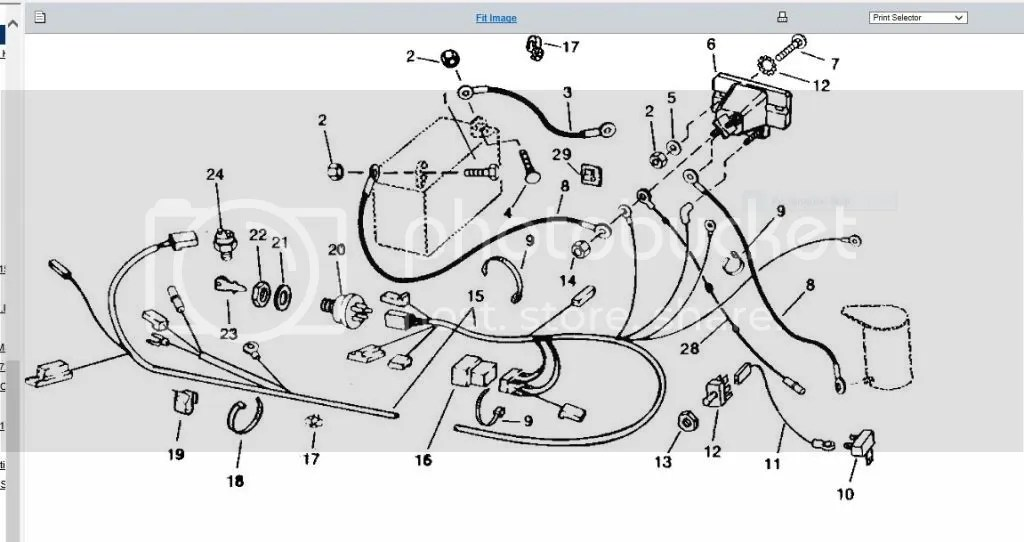 Deere 116 Wiring Harness Help. Random Diode