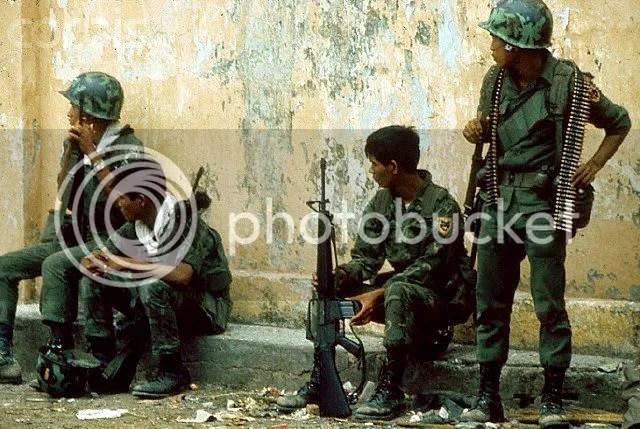 Hình ảnh nhũng người lính Biệt Động Quân vào những ngày cuối tháng 4 năm 1975