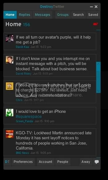 Fail whale notification on Destroy Twitter