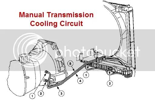 2000 Ford F350 Transmission Cooler Lines