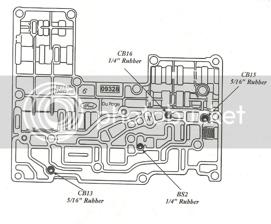 Wiring Diagram: 32 4r100 Transmission Diagram