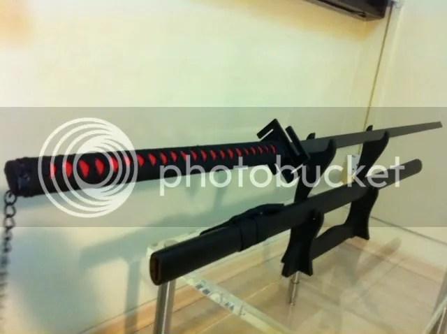 WTS Bleach Tensa Zangetsu Sword Sword SOLD left Stand