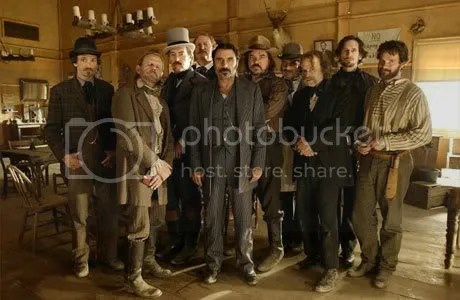 Part of the Deadwood Cast