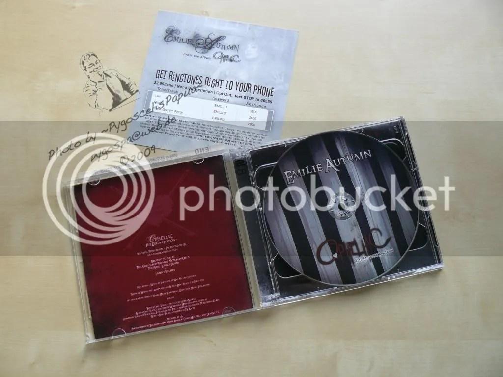 Inside the CD - No. I