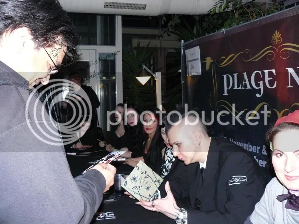 Autograph by Blutengel