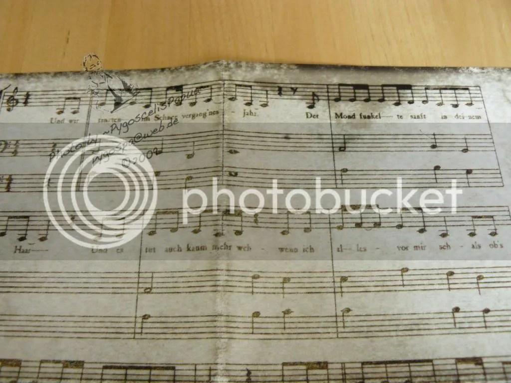 Notes of the song 'Und wir tanzten'