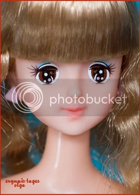 Ma-ba Barbie close up. Zbliżenie twarzyczki