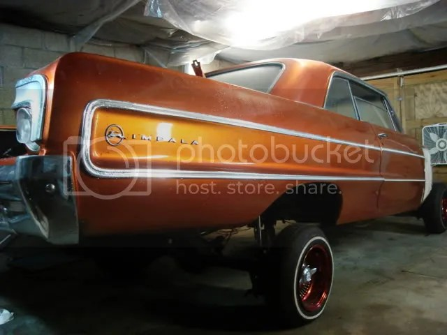 Tangerine Orange Auto Paint