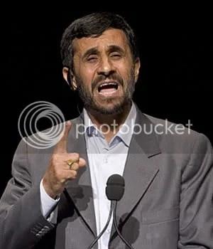 Iranian President Mahmoud Ahmadinejad speaks at Columbia.