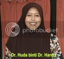 Dr. Huda binti Dr Haron, courtesy Darussyifa.org