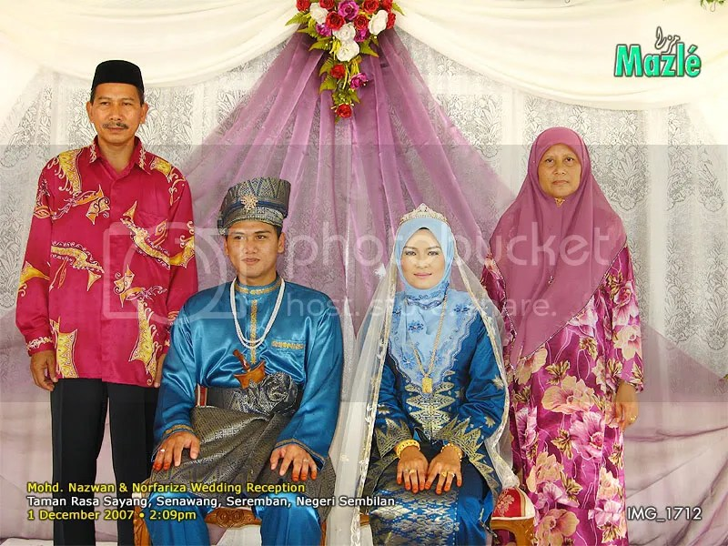Nazwan & Norfariza's Wedding Reception
