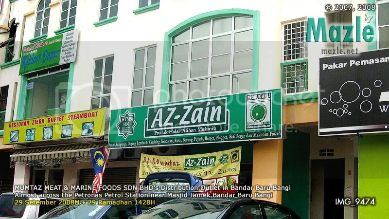 Az-Zain outlet in BBBangi