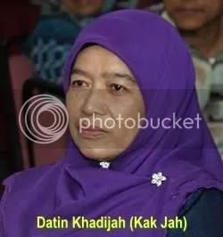 Datin Khadijah (Kak Jah), Dr Haron's wife, courtesy Darussyifa.org