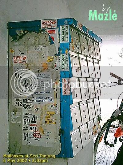 Mailboxes at Seri Tanjung