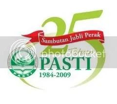 Logo Sambutan PASTI 25 Tahun