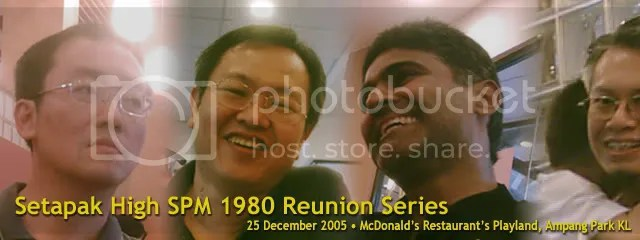 Setapak High SPM 1980 Reunion Series
