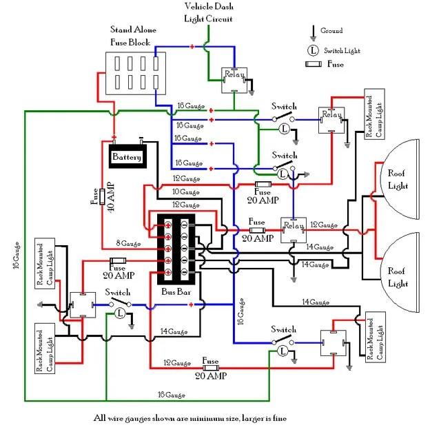 Toyota Land Cruiser Radio Wiring Diagram