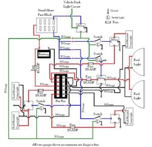 Not so Basic Wiring Diagram  Toyota FJ Cruiser Forum