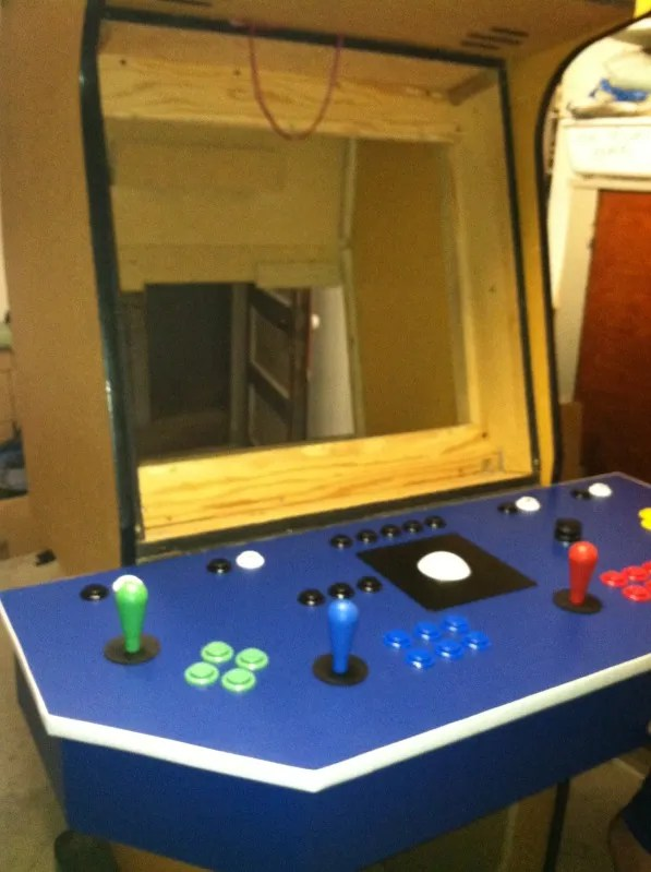Mame Arcade Cabinet 4 Player Veterinariancolleges