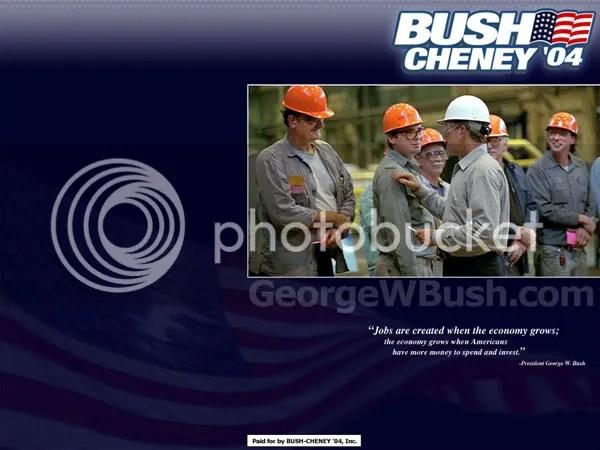 thiết kế cho chiến dịch của Bush