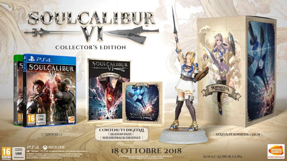 soul calibur vi, Soul Calibur VI: Annunciata la data di uscita