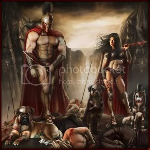 Welcome to the 300 Spartan Crew Part 2The Last Stand