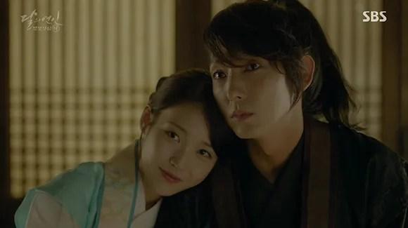 Imagini pentru Moon Lovers: Scarlet Heart Ryeo kiss