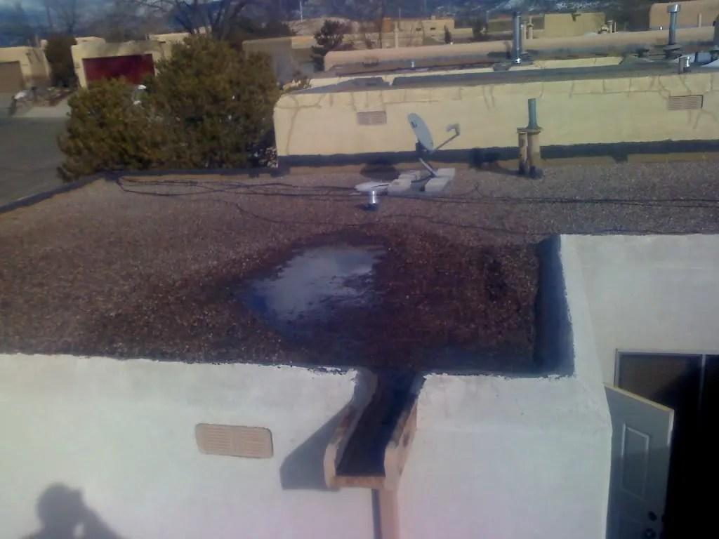 Santa Fe Style Roof/pond