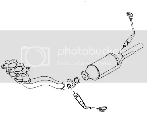 Oxygen Sensor Location On 2000 Ford Contour • Wiring And