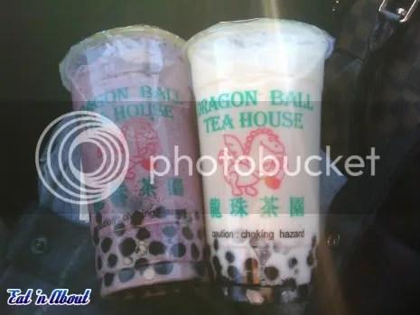 Dragon Ball Tea House Bubble Tea