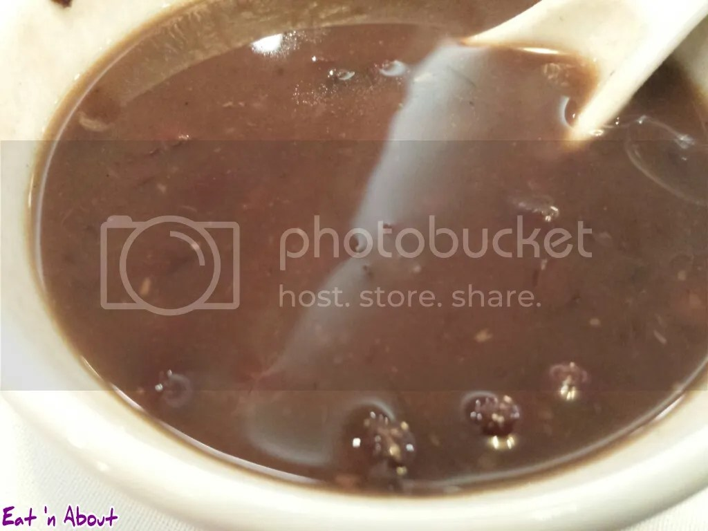 Golden Sea City Restaurant: Red Bean Soup
