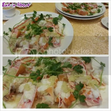 Victory Seafood (M's) Restaurant Richmond: Steamed King Crab with Butter and Garlic