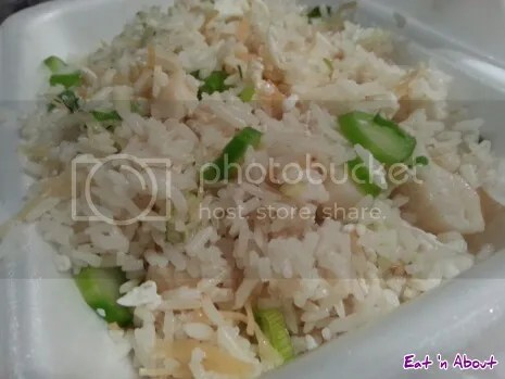 Victory Seafood (M's) Restaurant Richmond: Egg fried rice with scallops
