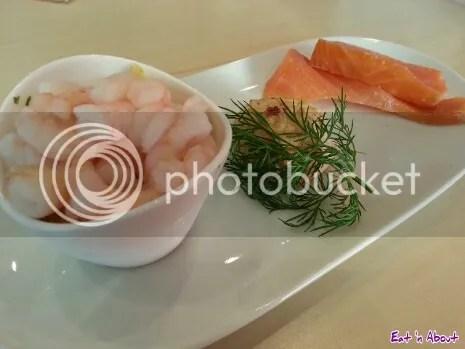 Ikea Bistro: Seafood Trio