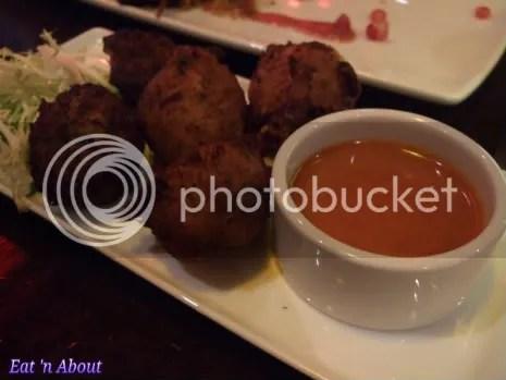 Regional Tasting Lounge: Bacalhau fritters