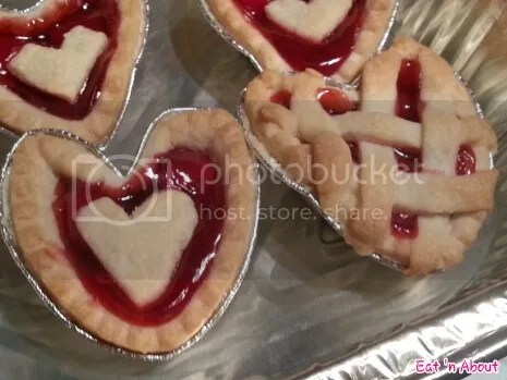 Home-cooking: Valentine's Cherry Tarts