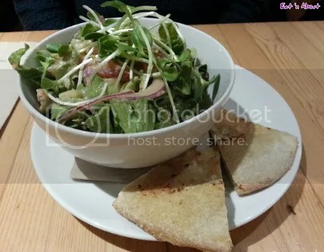 Rocky Mountain Flatbread Company: Fig & Goat's Cheese Salad